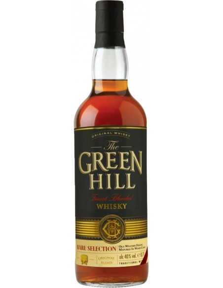 The GREEN HILL Finest Blended Whisky