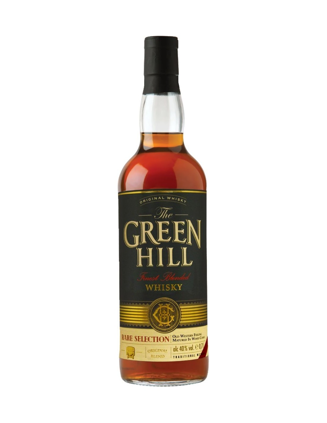 Whisky Green Hill, 40% alc., 0.7L, Germania
