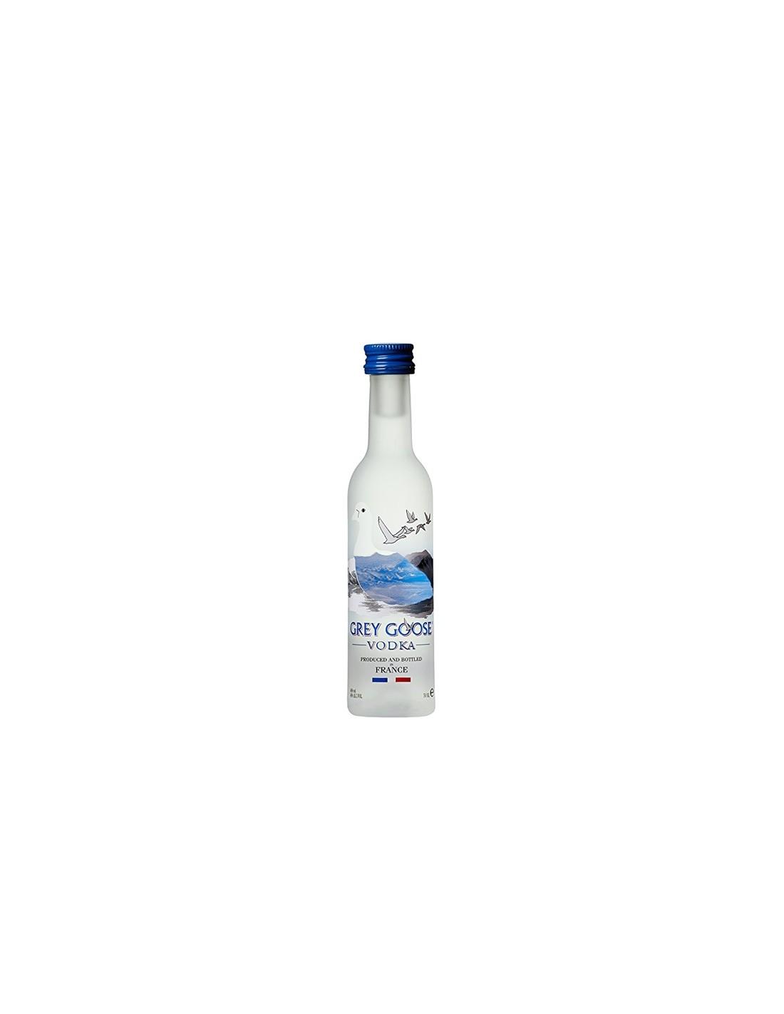 Vodca Grey Goose 0.05L, 40% alc., Franta