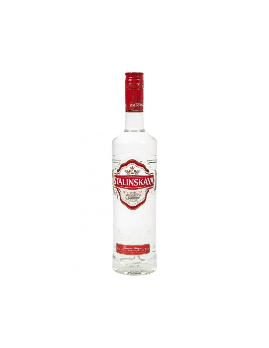Vodca Stalinskaya 0.5L, 40% alc., Romania