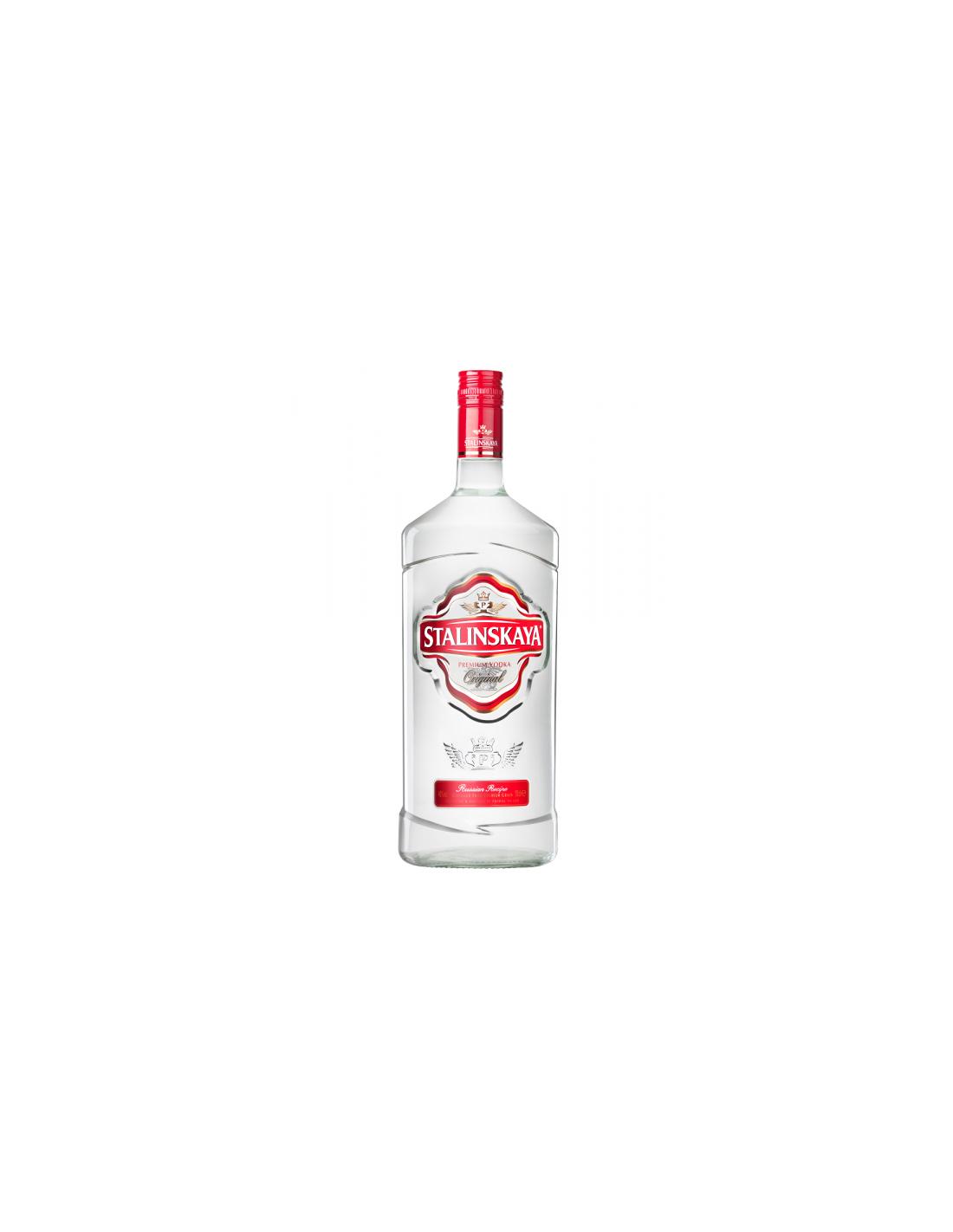 Vodca Salinskaya 1.75L, 40% alc., Romania