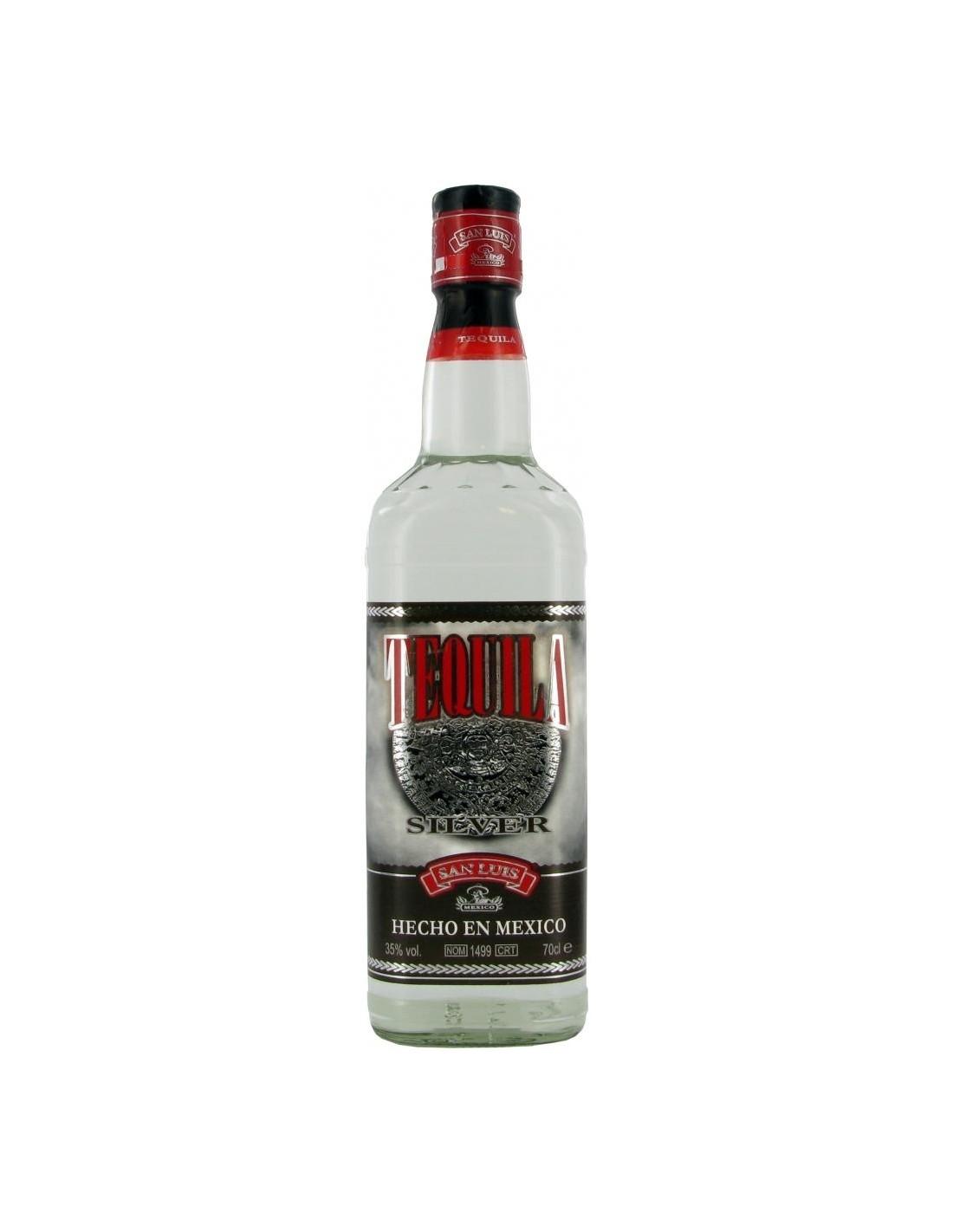 Tequila alba San Luis Silver 0.7L, 38% alc., Mexic