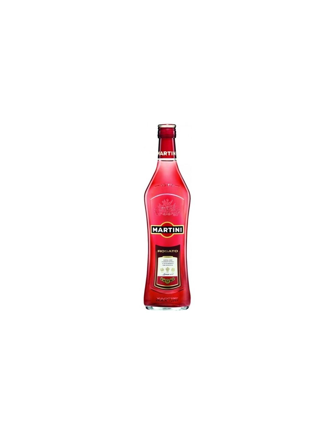 Aperitiv Martini Rosato, 15% alc., 0.75L, Italia