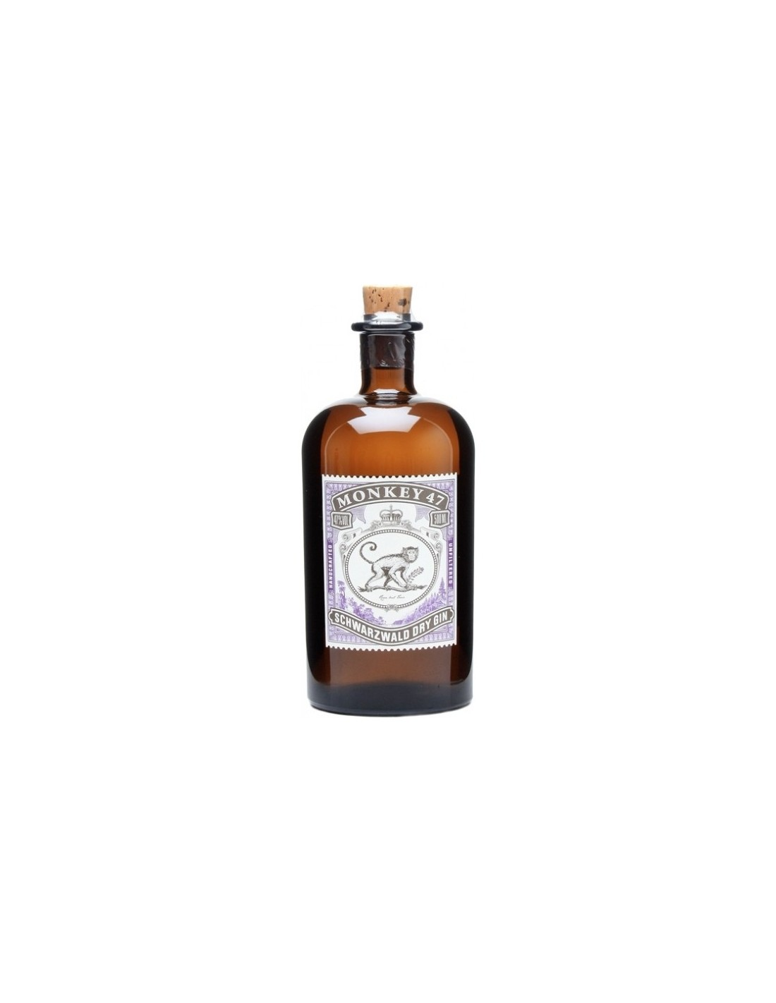 Gin Monkey 47, 47% alc., 0.5L, Germania
