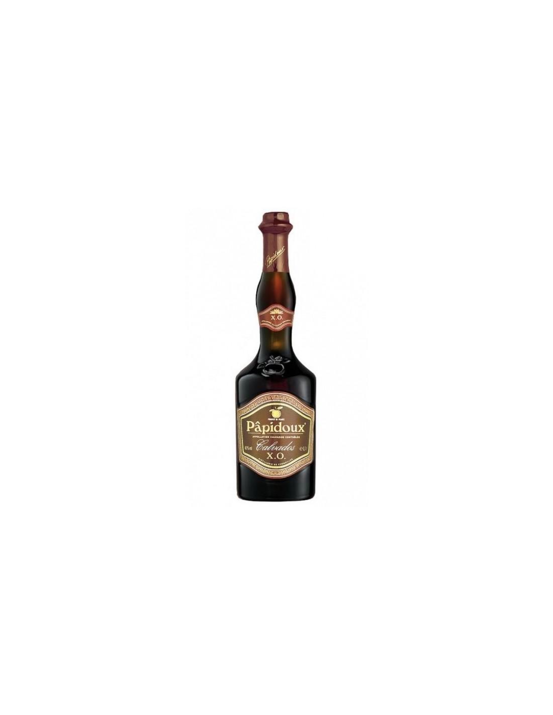 Brandy Calvados Papidoux XO, 40% alc., 0.7L, Franta