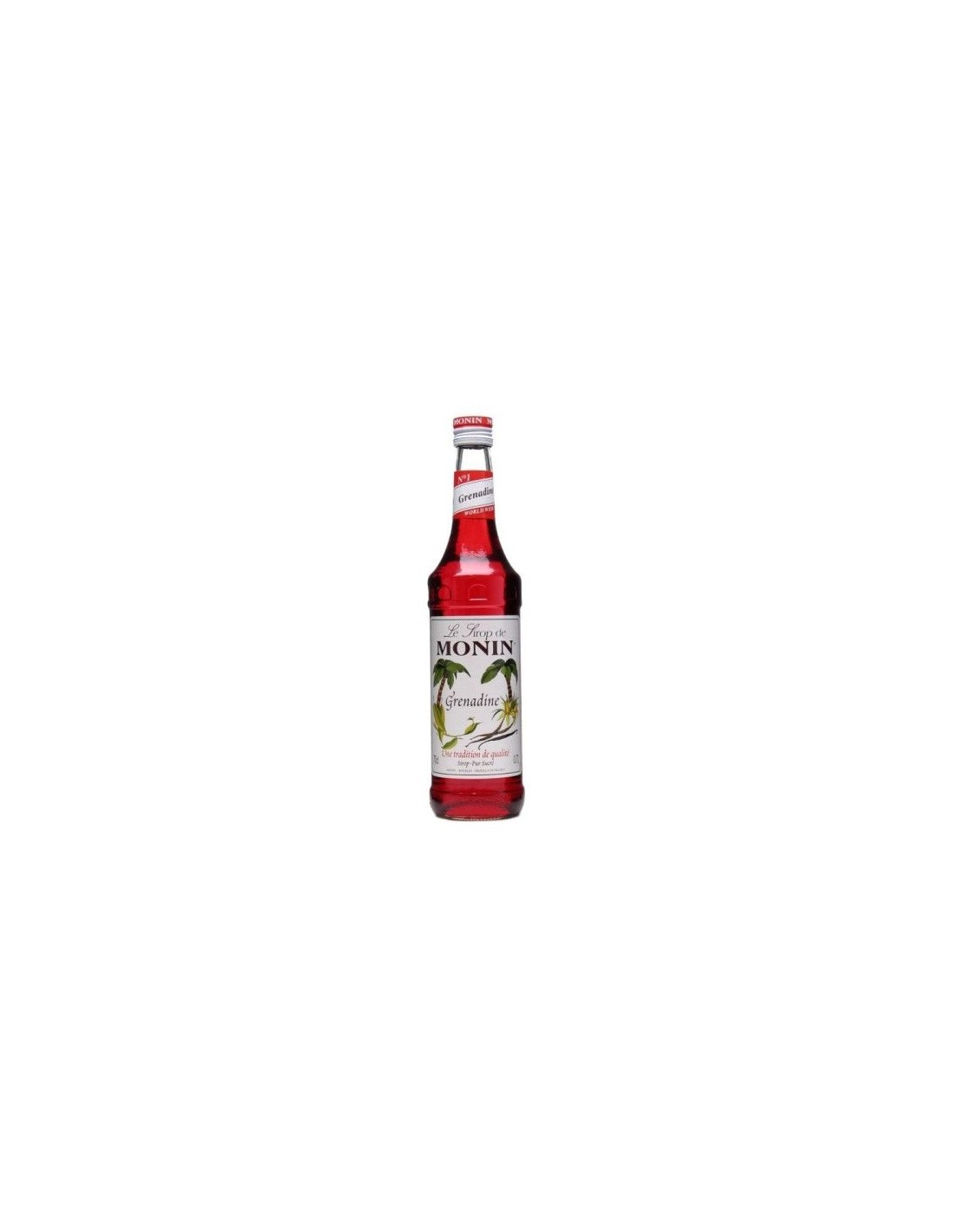 Sirop cocktail Monin Grenadine, 0.7L, Franta