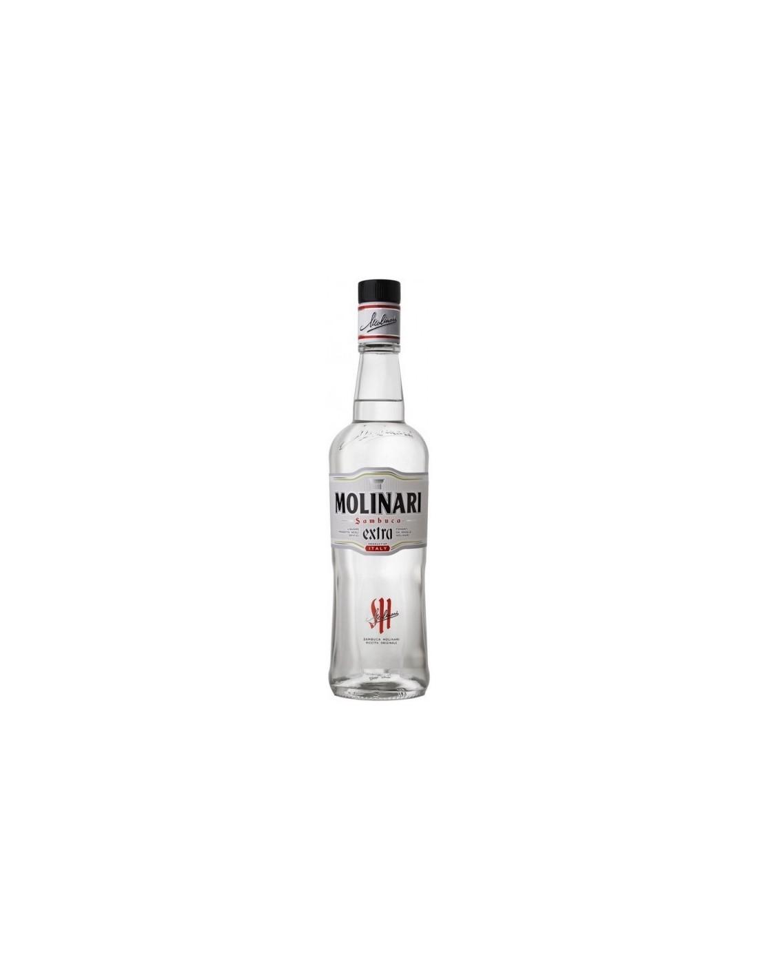 Lichior Sambuca Molinari, 40% alc., 0.7L, Italia