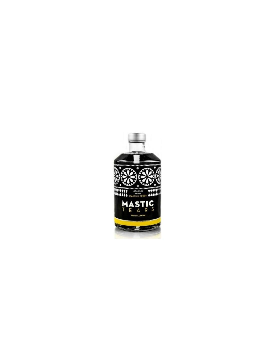 Lichior Mastic Tears Lemon 24% alc., 0.5L, Grecia