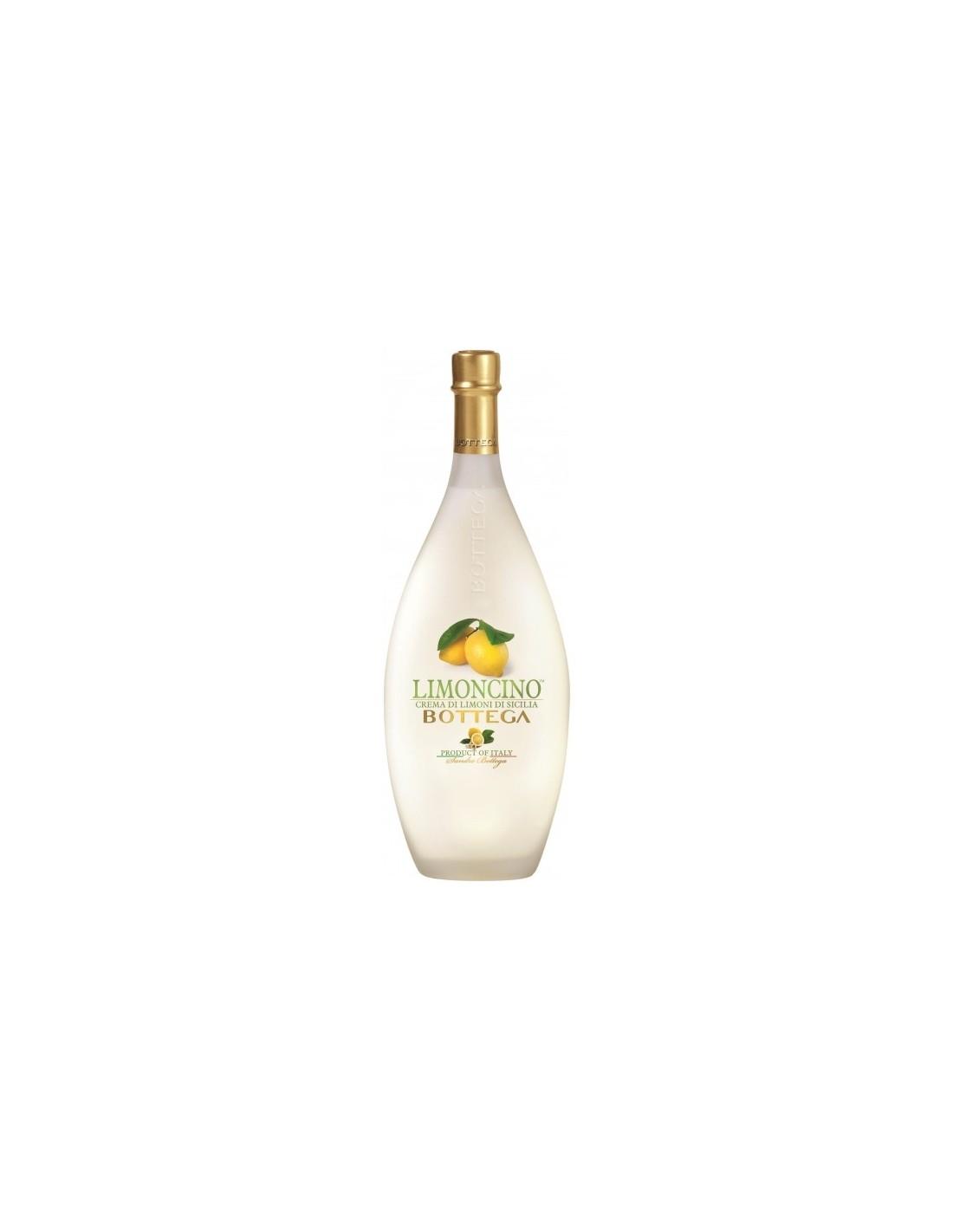 Lichior Limoncino Bottega Crema 0.5l Alc. 15%