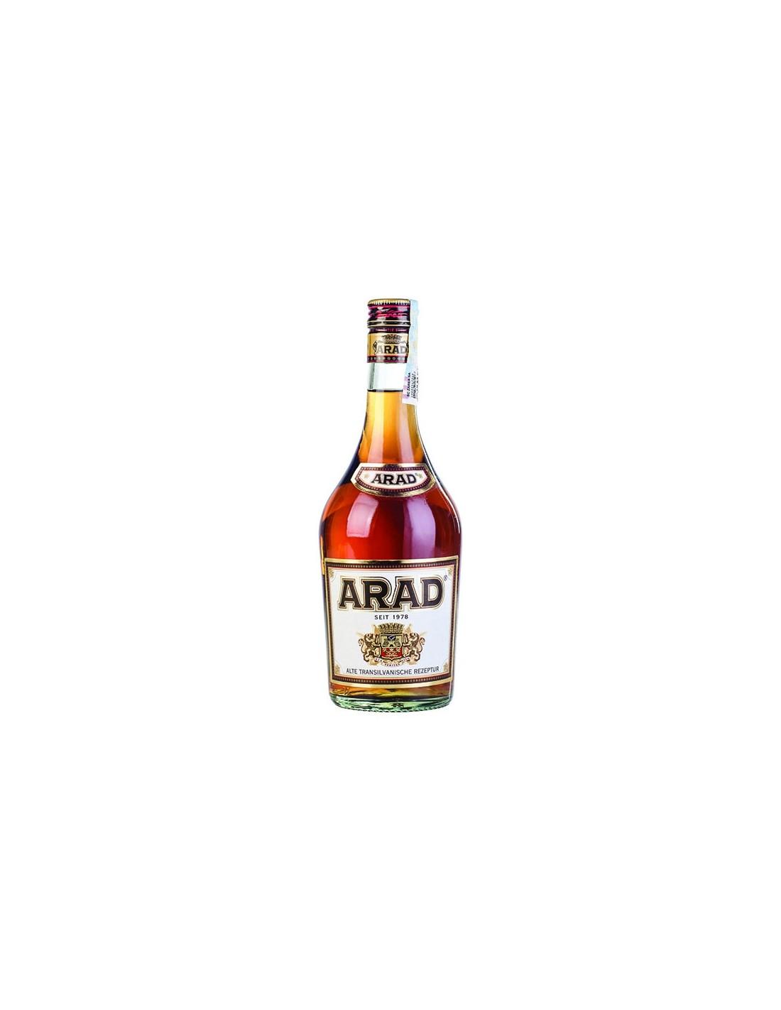 Coniac XO Arad, 24% alc., 0.5L, Romania