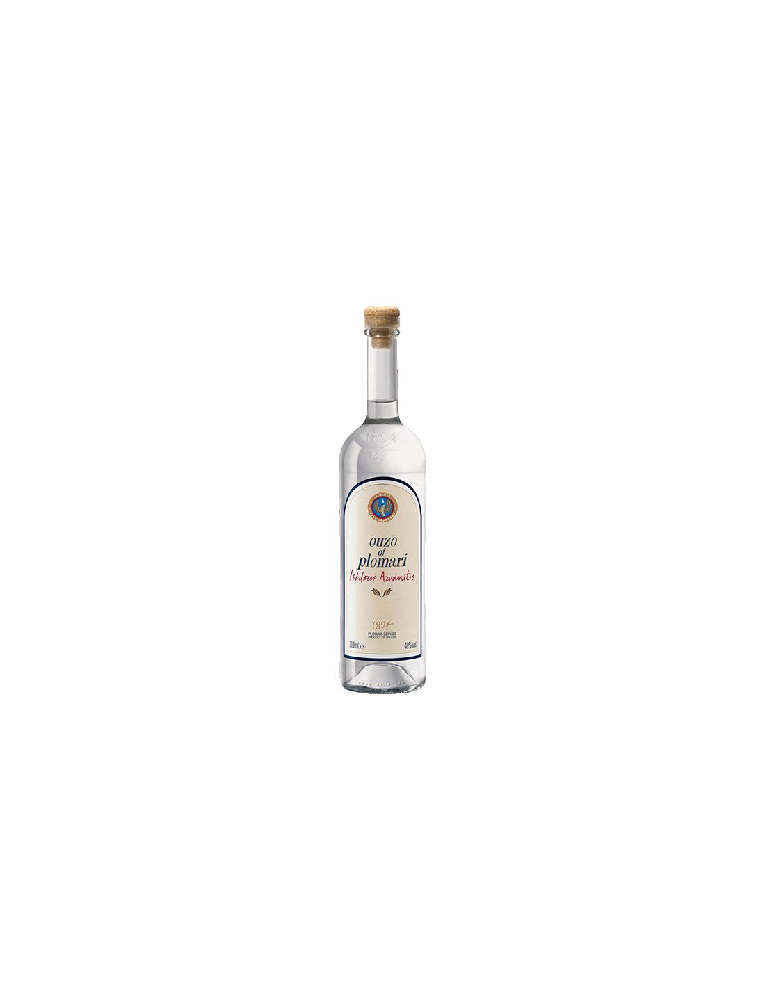 Bautura traditionala Ouzo Plomari, 40% alc., 0.7L, Grecia