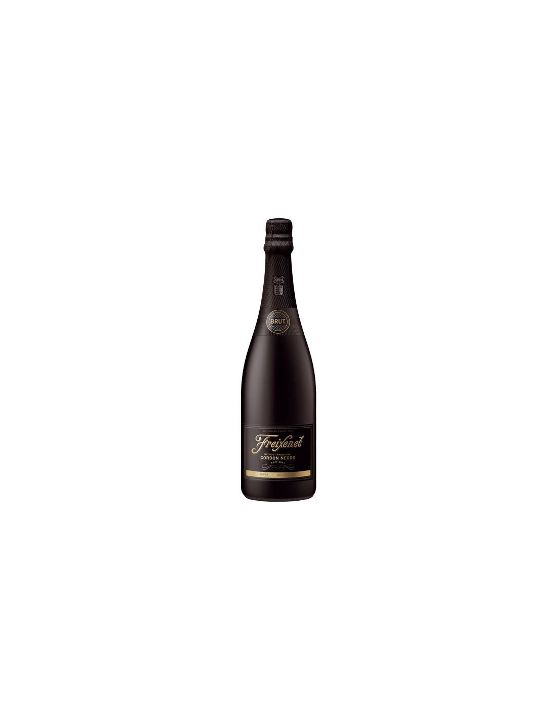 Vin spumant, Freixenet Cordon Negro Cava, 0.75L, 11.50% alc., Spania