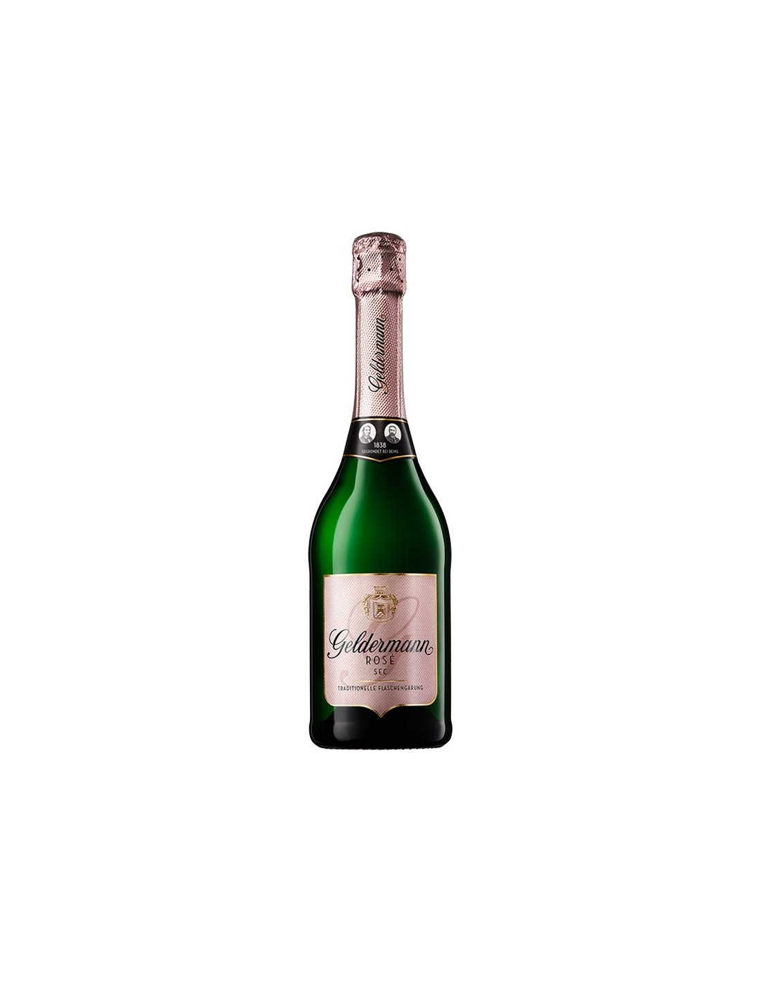 Vin spumant roze sec, Geldermann Baden, 0.75L, 12% alc., Germania