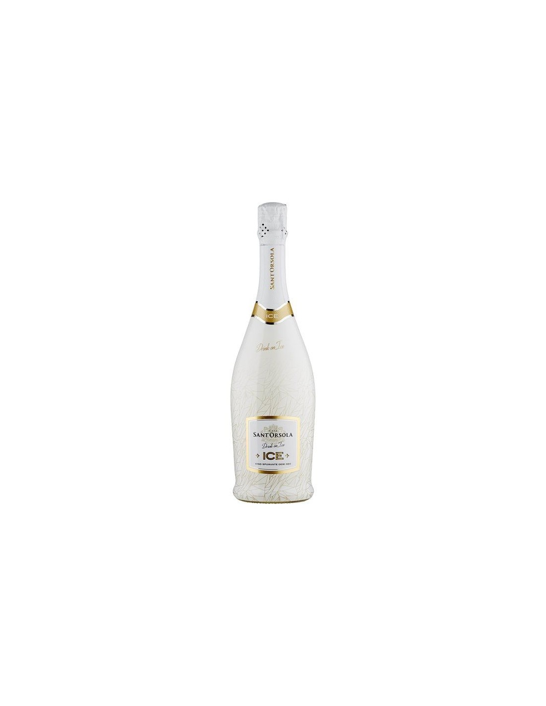 Vin spumant alb Cupaj, Casa Sant'Orsola Ice, 0.75L, 11% alc., Italia