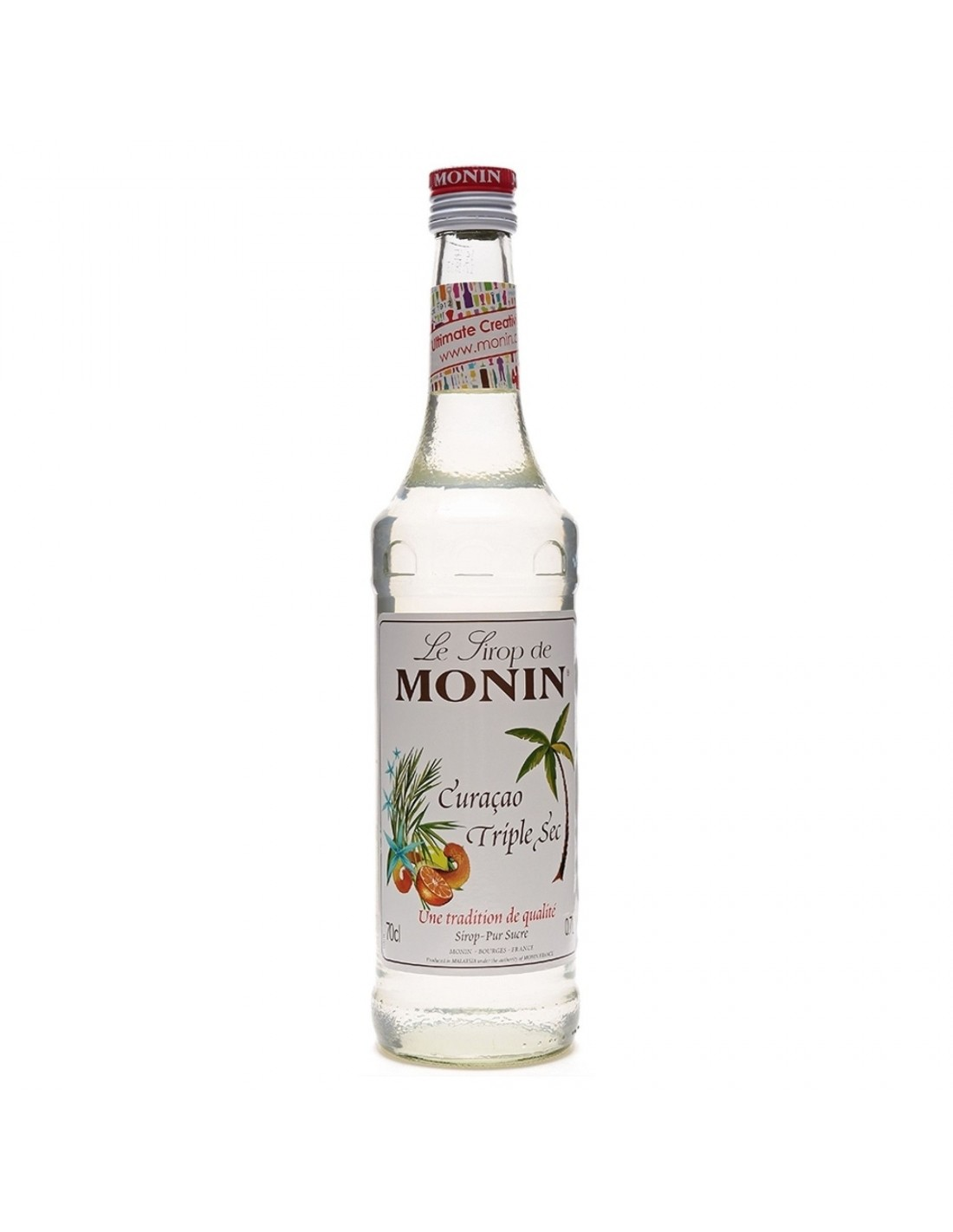 Sirop cocktail Monin Curacao Triple Sec, 0.7L, Franta