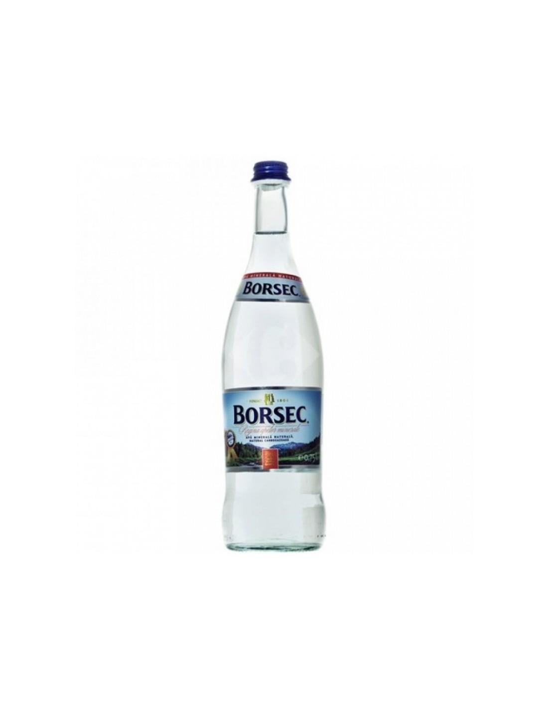 Apa minerala Borsec 0.75L BAX *6 buc