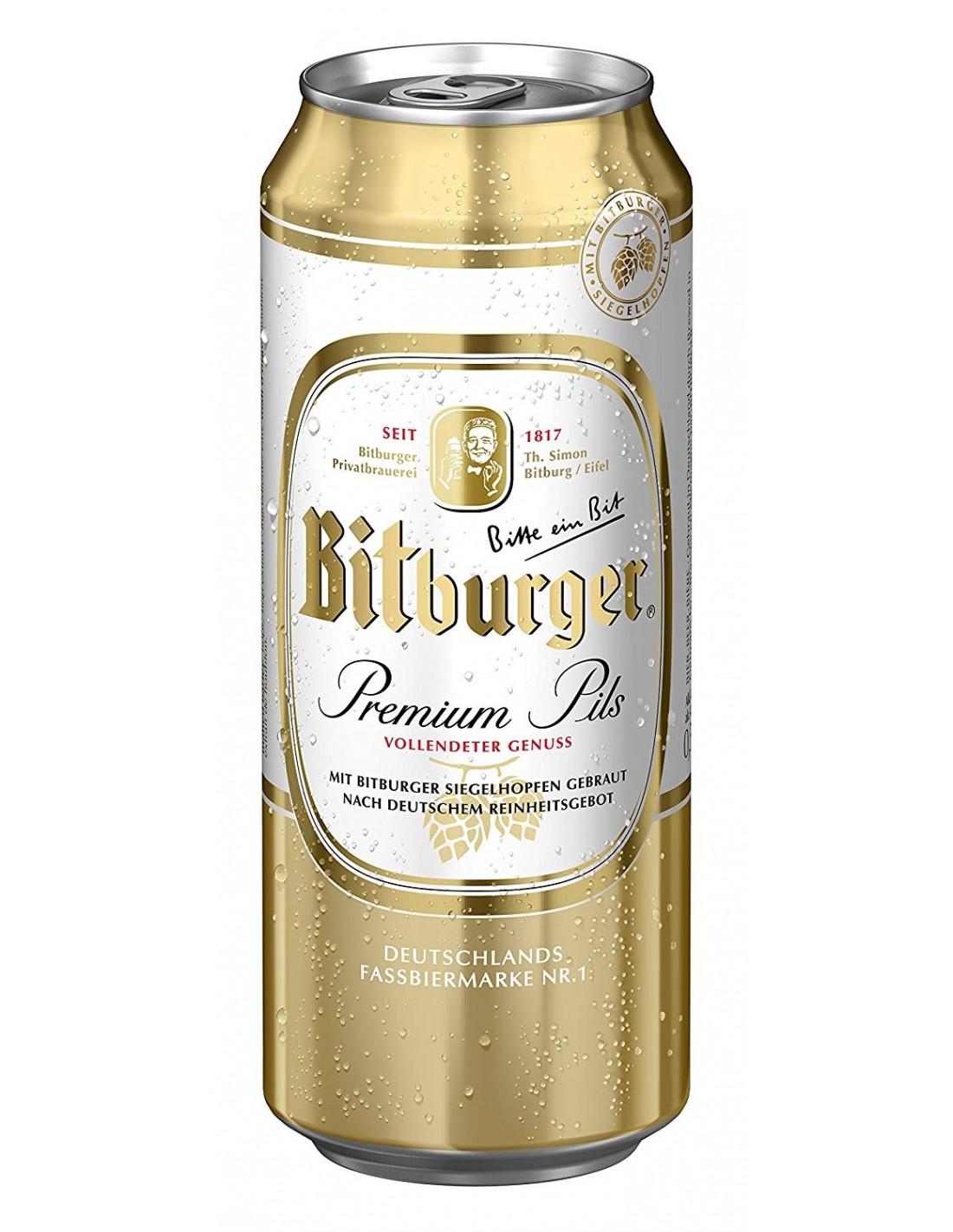 Bere Bitburger 0.5l, doza
