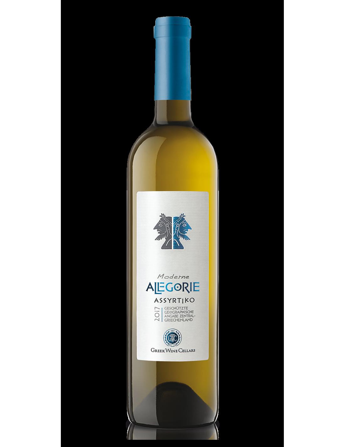 Vin alb, Allegorie Assyrtiko White, 0.75L, Grecia