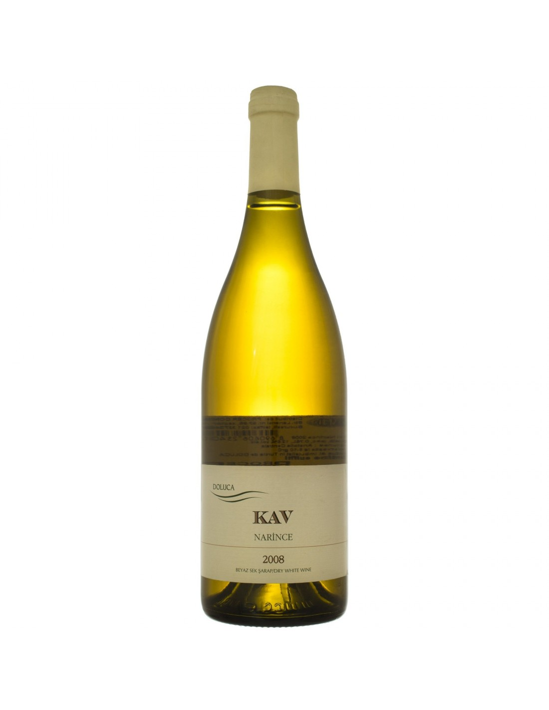 Vin alb sec, Narince, KAV, 0.75L, 12.5% alc., Turcia