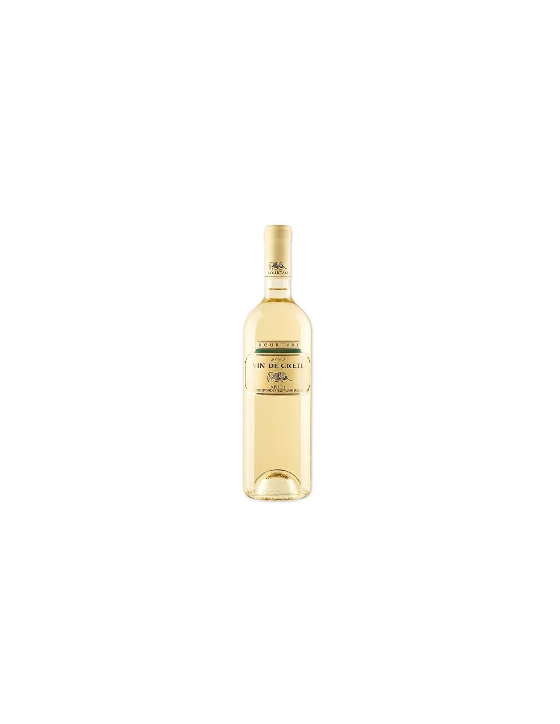 Vin alb, Vin De Crete, 0.75L, 11.5% alc., Grecia