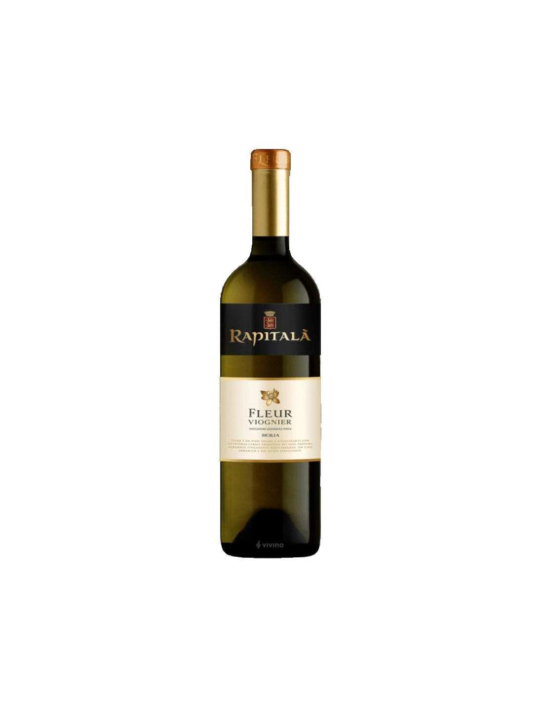 Vin alb, Viognier, Rapitalà Sicilia, 0.75L, Italia
