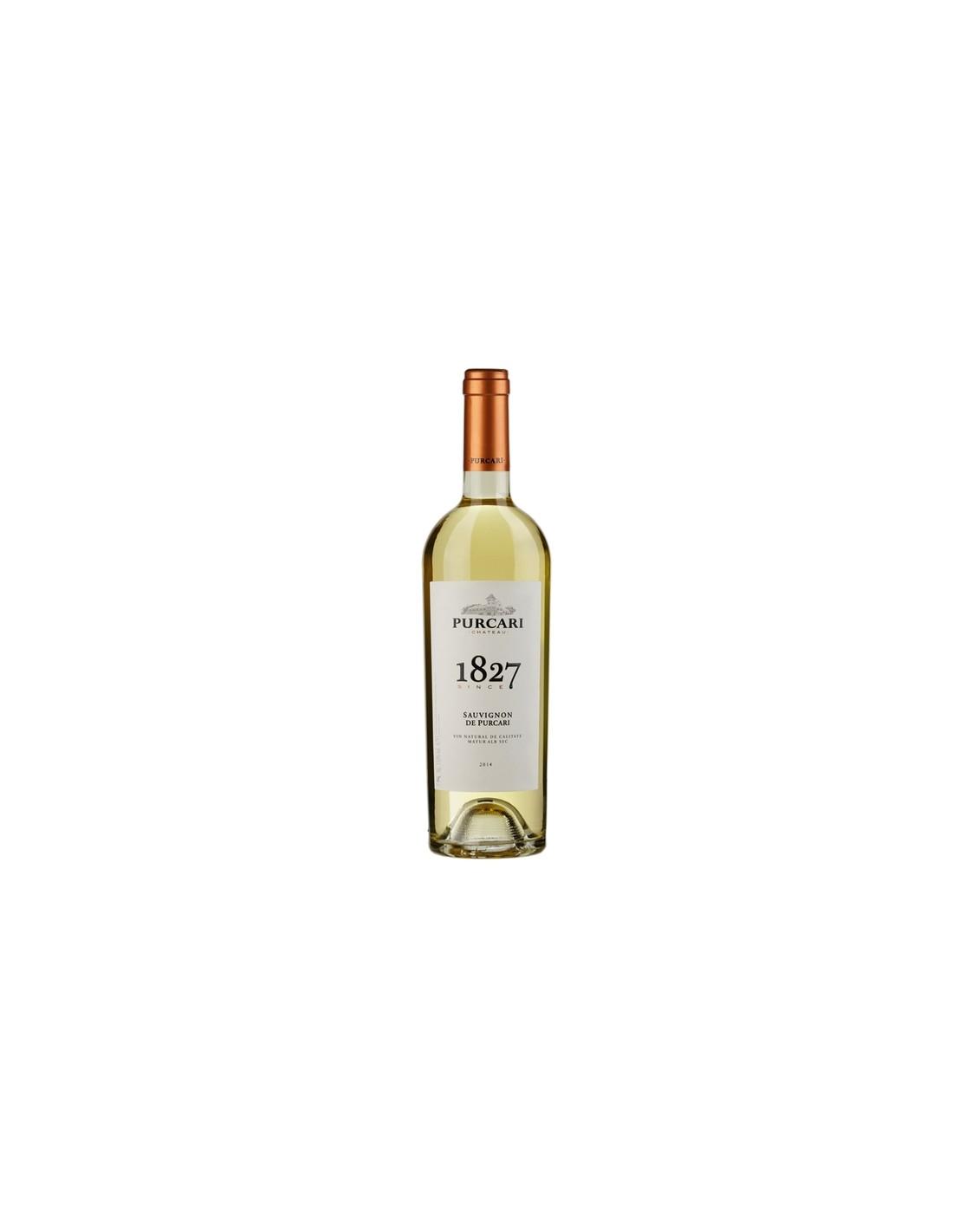 Vin alb sec, Sauvignon Blanc, Purcari Stefan Voda, 0.75L, 12% alc., Republica Moldova