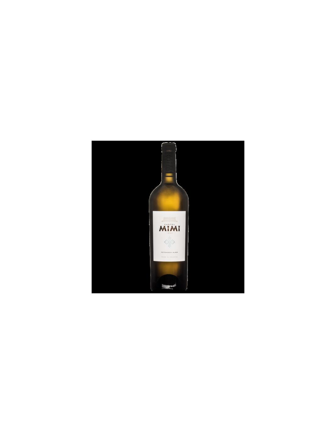 Vin alb sec, Feteasca Alba, Castel Mimi IGP Codru, 0.75L, 13% alc., Republica Moldova