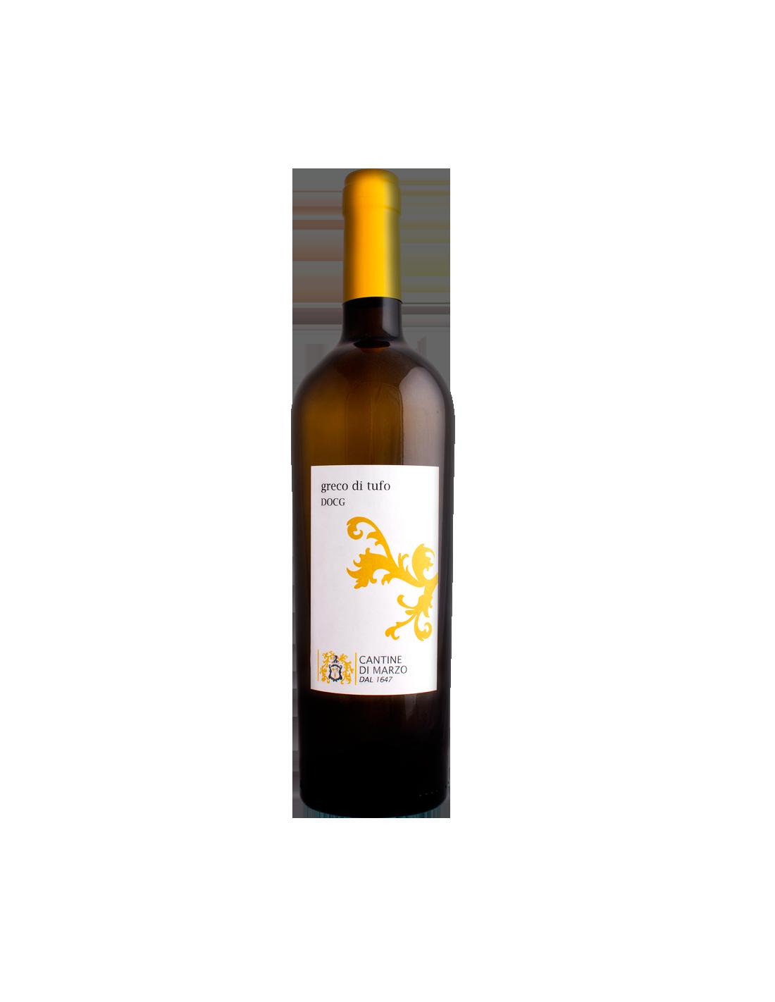 Vin alb, Greco, Cantine di Marzo Tufo, 0.75L, Grecia