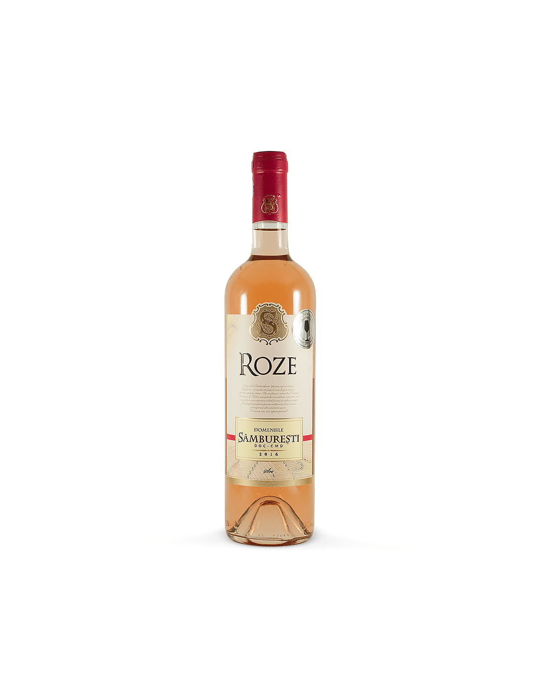 Vin roze sec, Cabernet Sauvignon, Domeniile Samburesti, 14% alc., 0.75L, Romania
