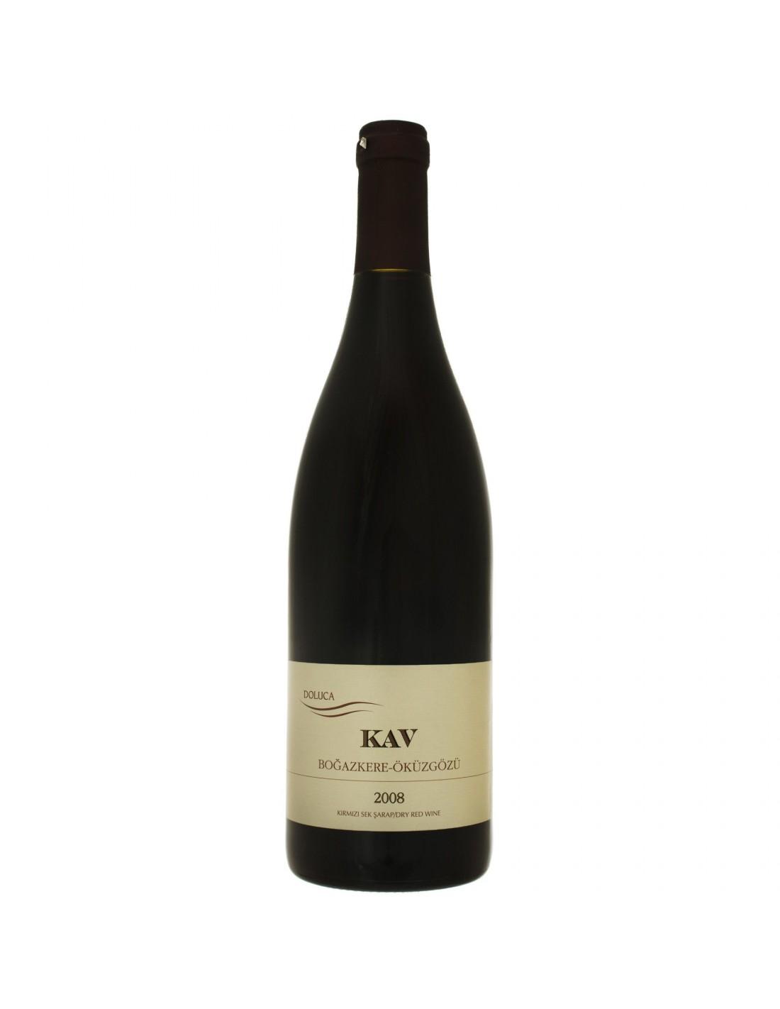 Vin rosu, Cupaj, Boğazkere - Öküzgözü Ankara, 0.75L, 14% alc., Turcia