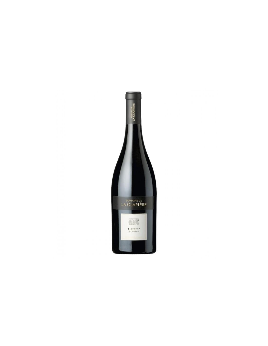 Vin rosu, Cupaj, Gatefer Pays d'Oc, 0.75L, 14% alc., Franta