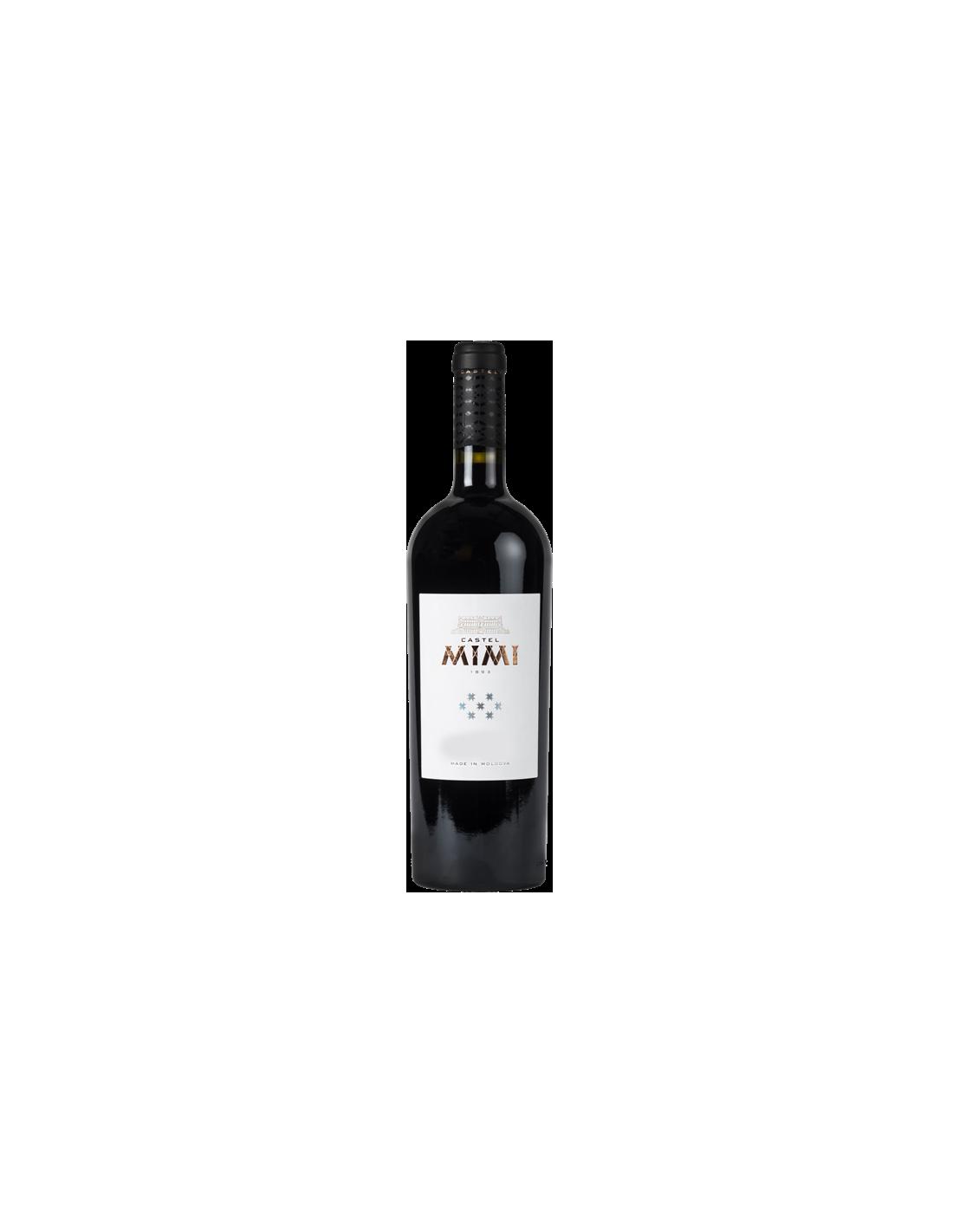Vin rosu sec, Merlot, Castel Mimi, 0.75L, 14.5% alc., Republica Moldova