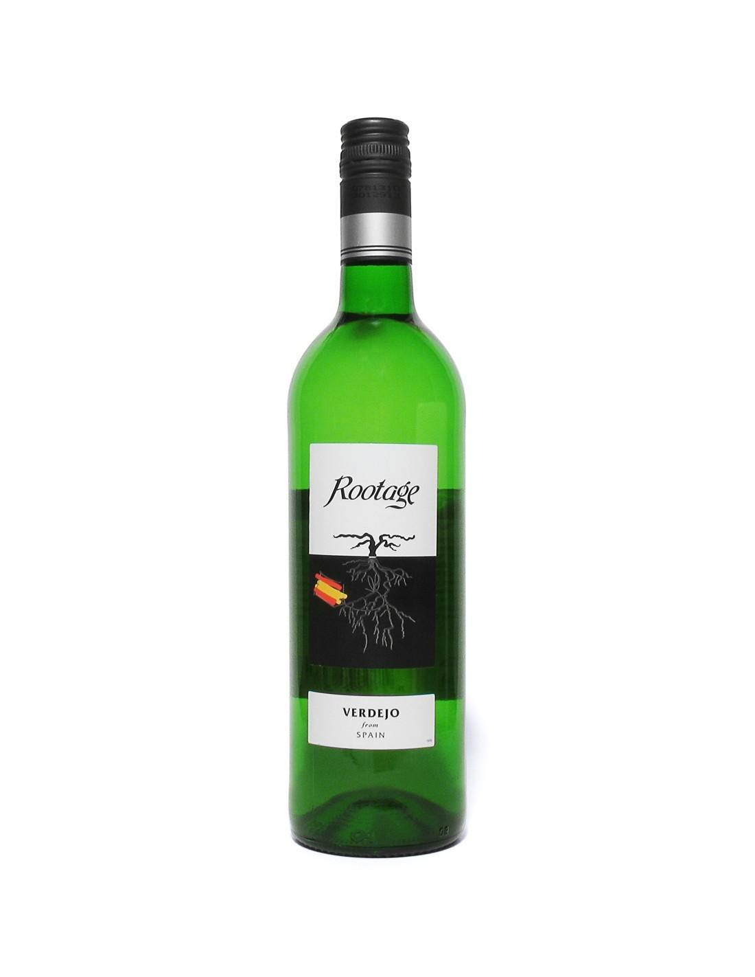 Vin alb, Verdejo, Rootage Castilla, 0.75L, Spania