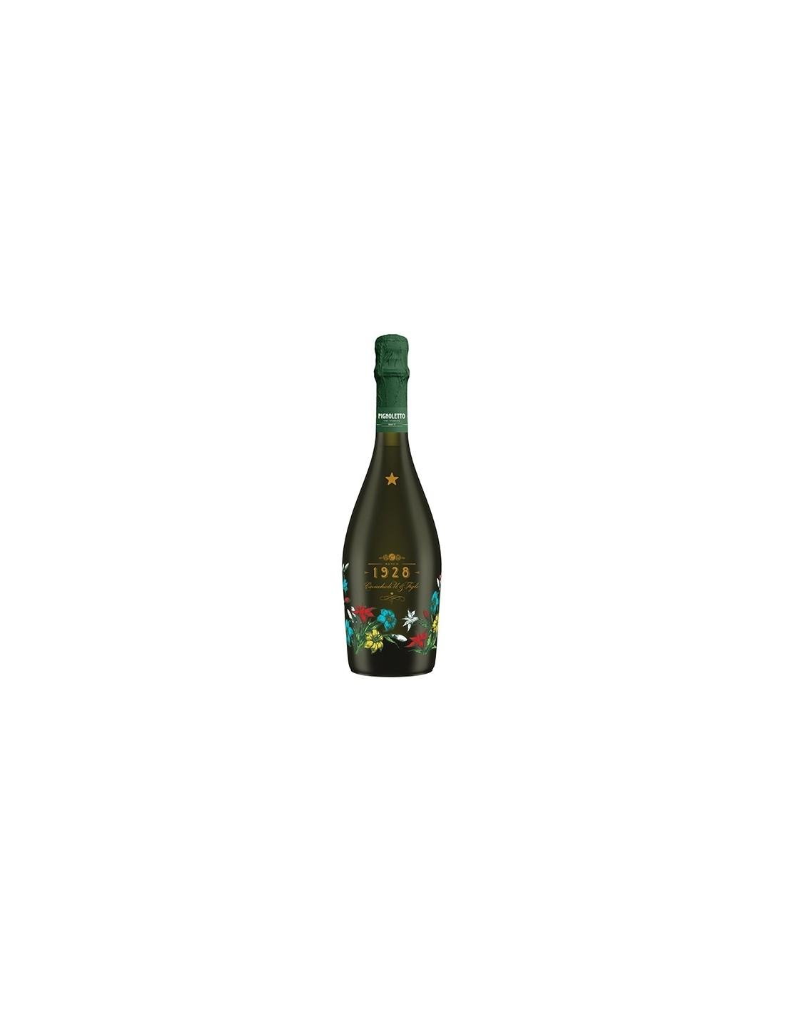 Vin spumant alb Pignoletto, Cavicchioli Modena, 0.75L, 11% alc., Italia