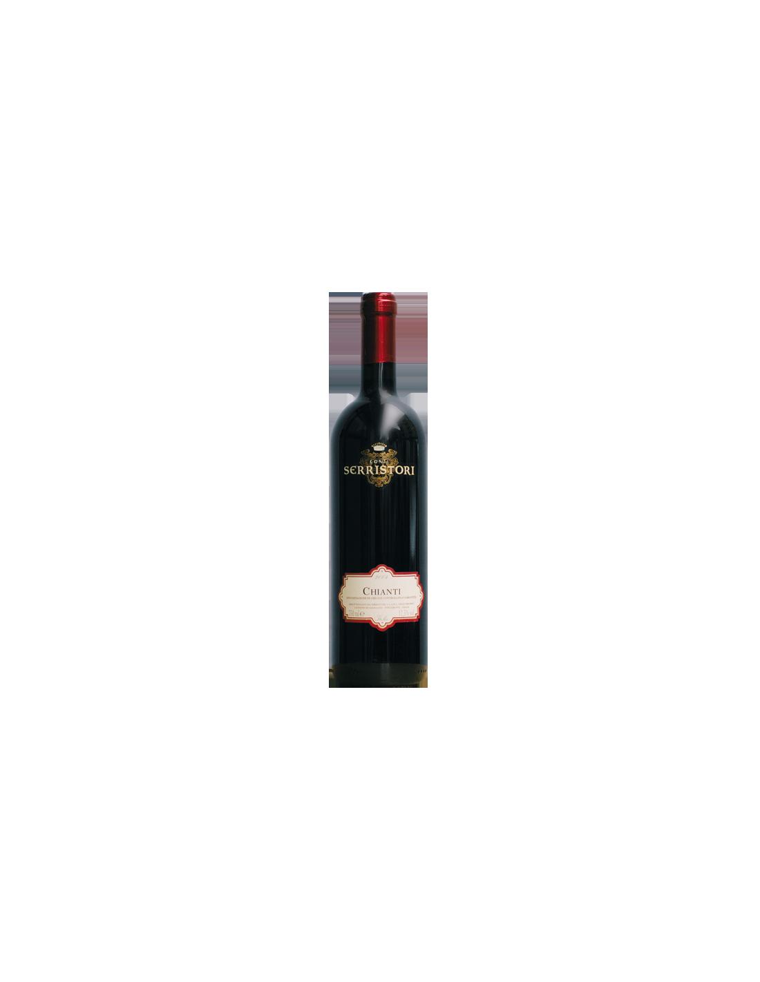 Vin rosu sec, Sangiovese, Chianti, 0.75L, 12.5% alc., Italia