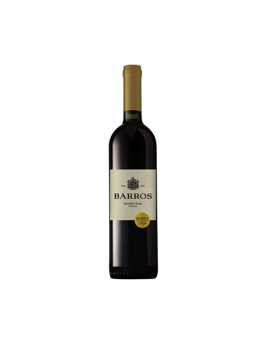Vin porto alb sec, Barros Douro, 0.75L, 2014, 13.5% alc., Portugalia