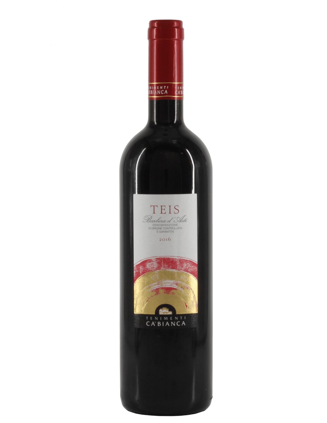 Vin rosu, Tenimenti Ca' Bianca, Barbera d'Asti, 0.75L, 14% alc., Italia