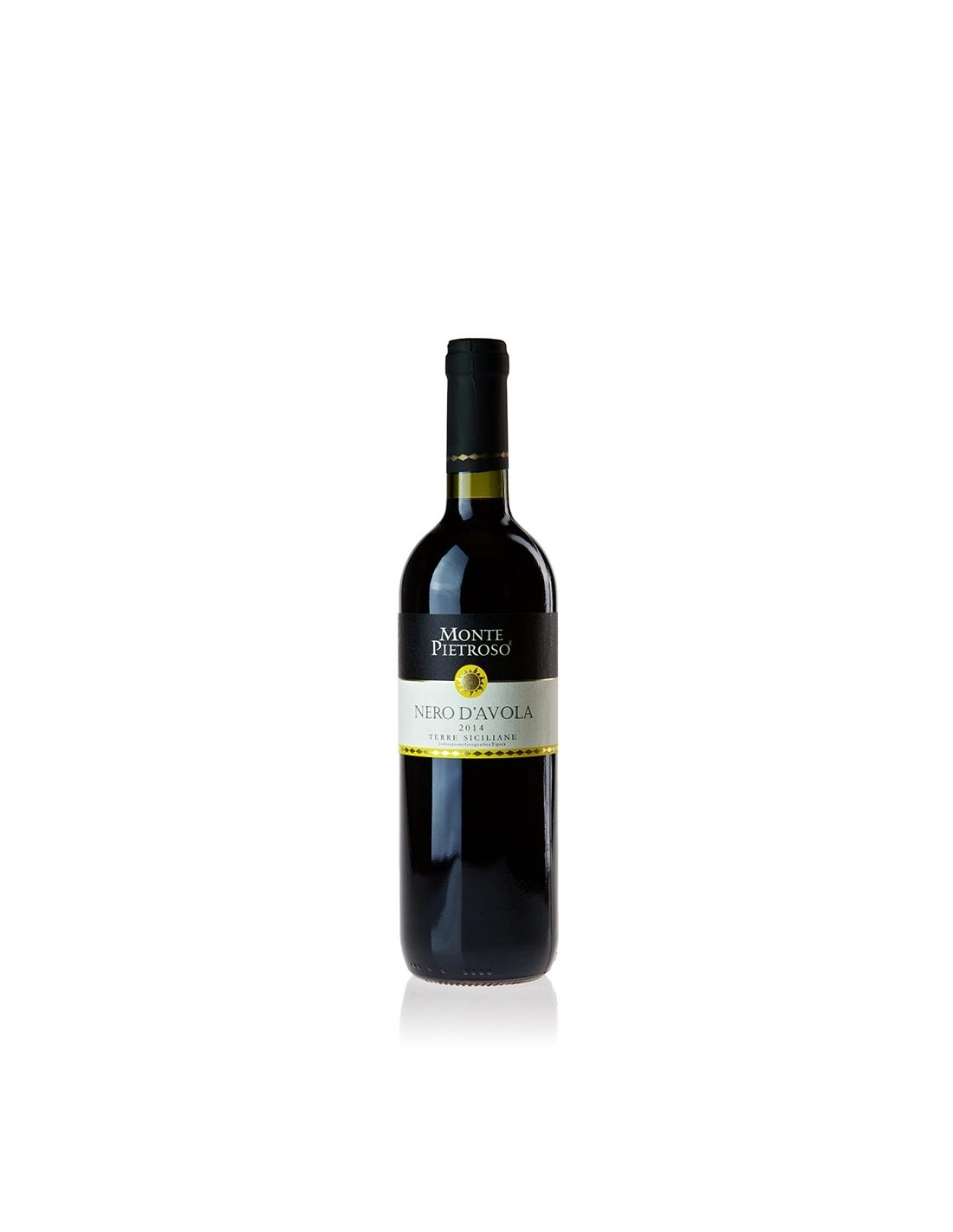 Vin rosu, Nero d'Avola, Monte Pietroso Sicilia, 0.75L, 14% alc., Italia