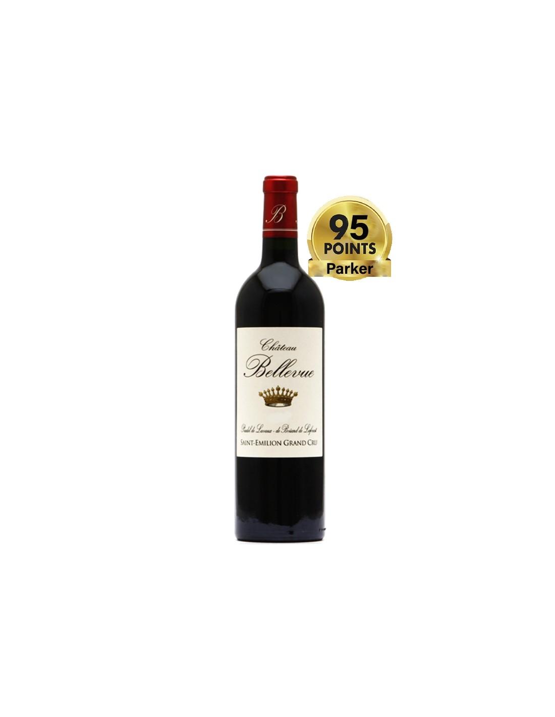 Vin rosu, Cupaj, Château Bellevue Saint-Émilion, 0.75L, 13% alc., Franta