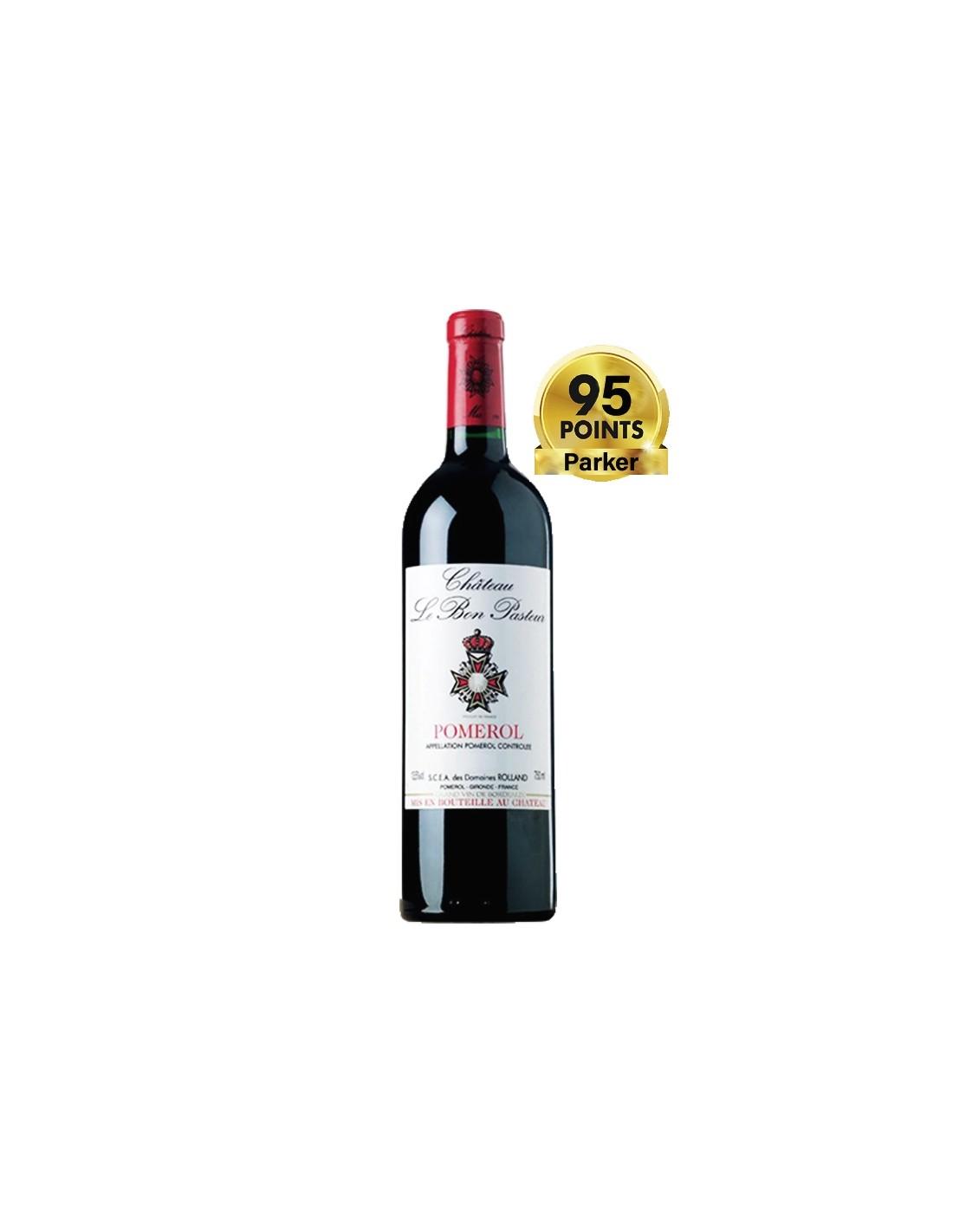 Vin rosu, Cupaj, Château Le Bon Pasteur Pomerol, 0.75L, 13% alc., Franta