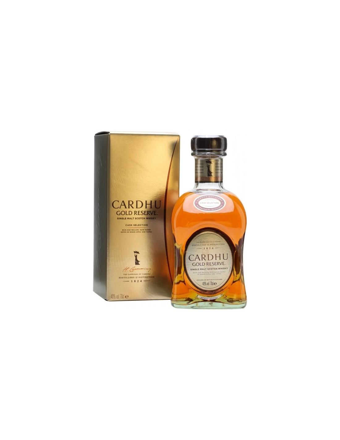 Whisky Cardhu Gold Reserve, 40% alc., 0.7L, Scotia