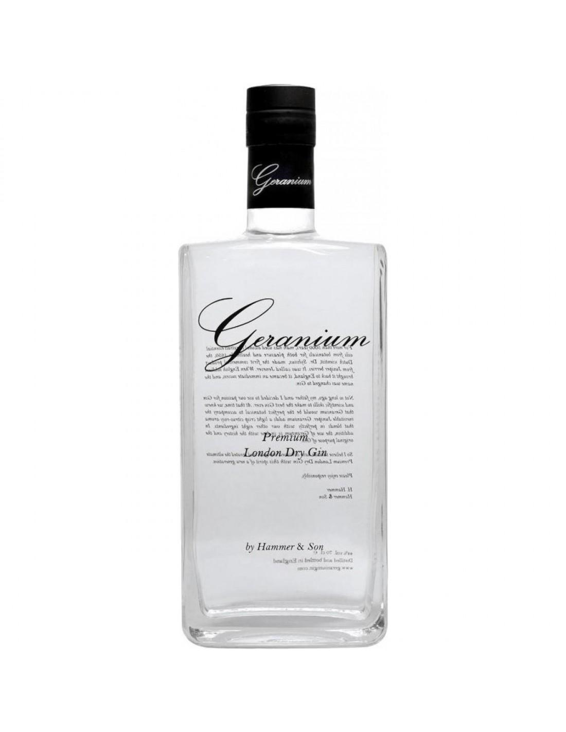 Gin Geranium 44% alc., 0.7L, Marea Britanie