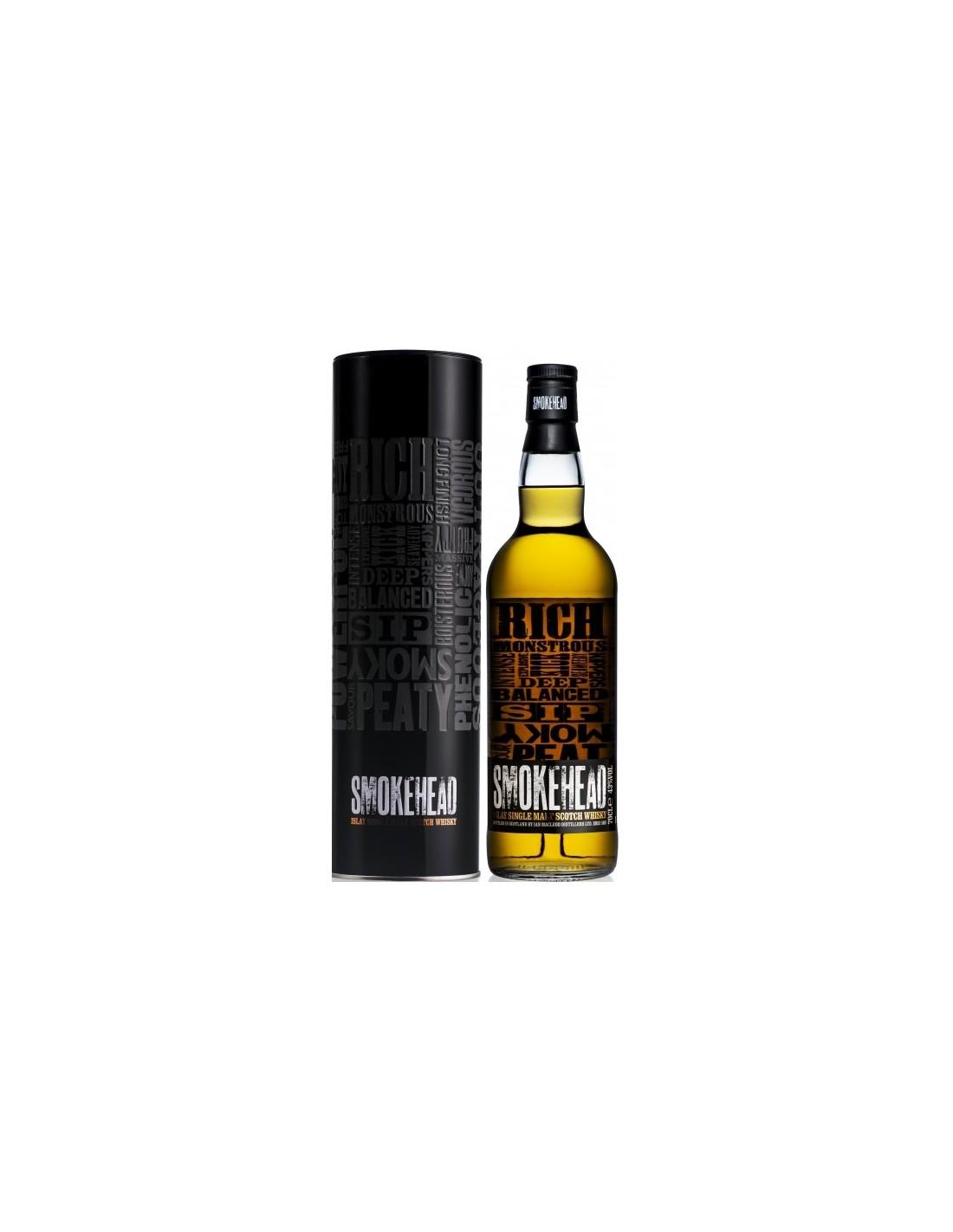Whisky Smokehead, 43% alc., 0.7L, Scotia