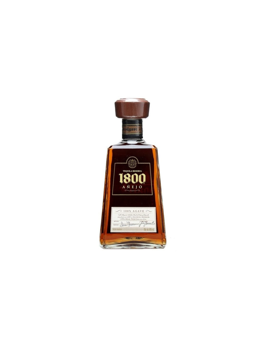 Tequila aurie 1800 Reserva Anejo 0.7L, 38% alc., Mexic