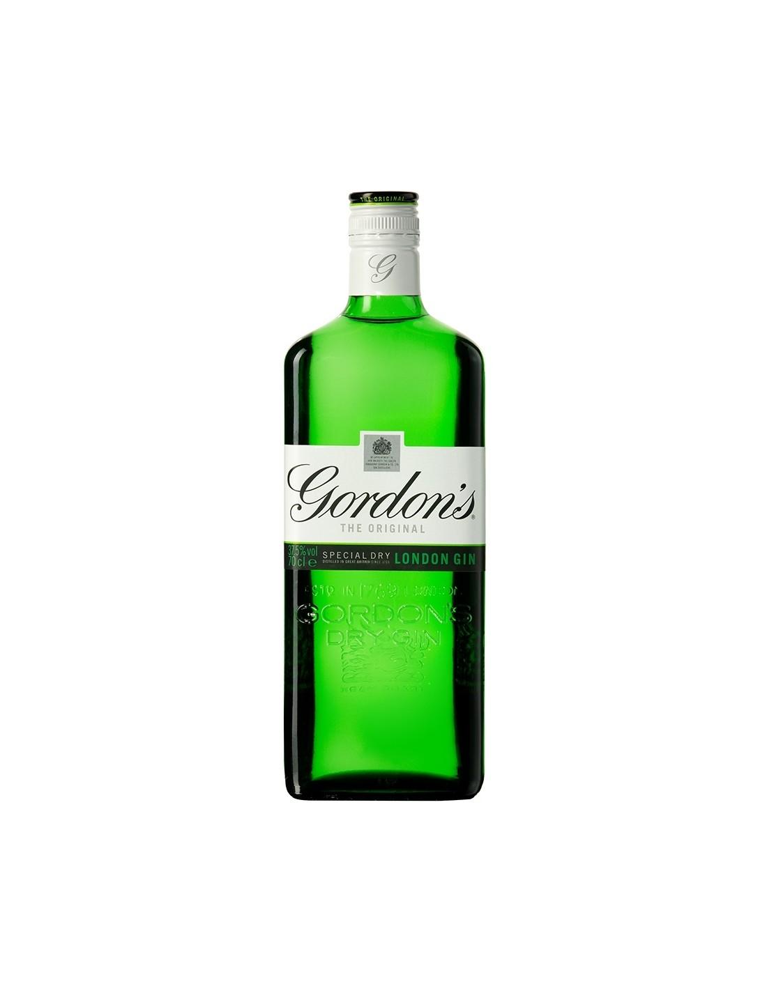 Gin Gordon's Green Label 37.5% alc., 1L, Anglia