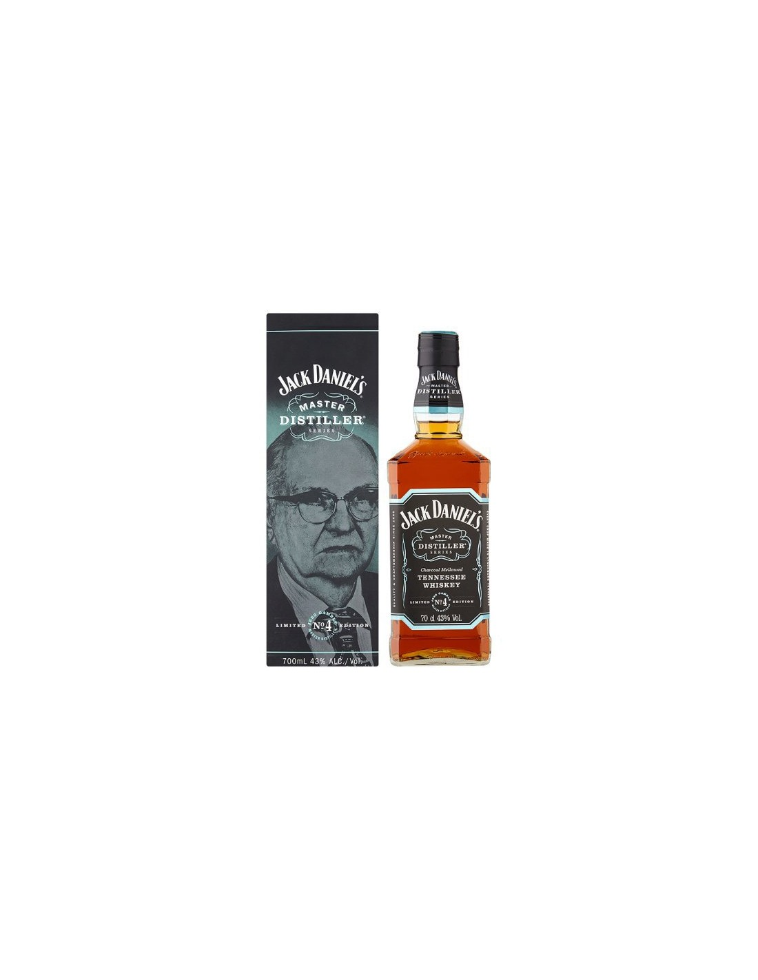 Whisky Bourbon Jack Daniel's Master Distiller No. 4, 43% alc., 0.7L, America