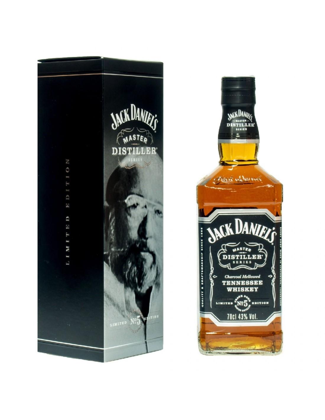 Whisky Bourbon Jack Daniel's Master Distiller No. 5, 43% alc., 0.7L, America