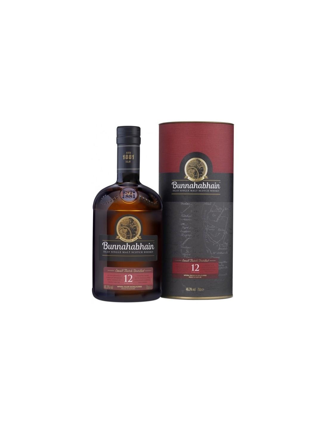 Whisky Bunnahabhain, 12 ani, 46.3% alc., 0.7L, Scotia