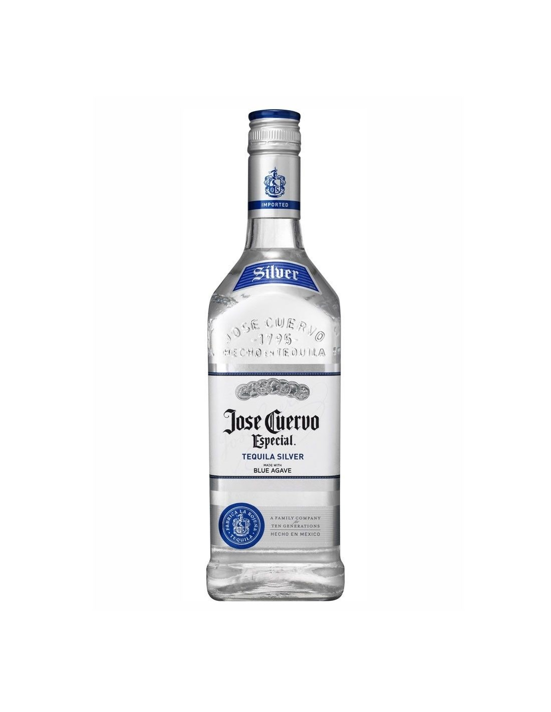 Tequila alba Jose Cuervo Especial Silver 0.7L, 38% alc., Mexic