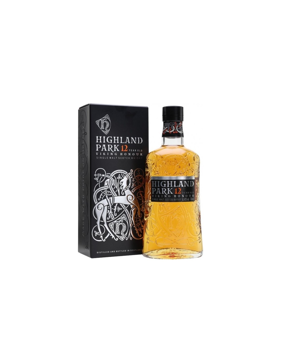 Whisky Highland Park, 12 ani, 40% alc., 0.7L, Scotia